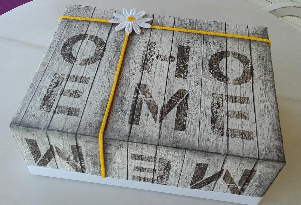 """Caja de cartón """"HOME""""1"""