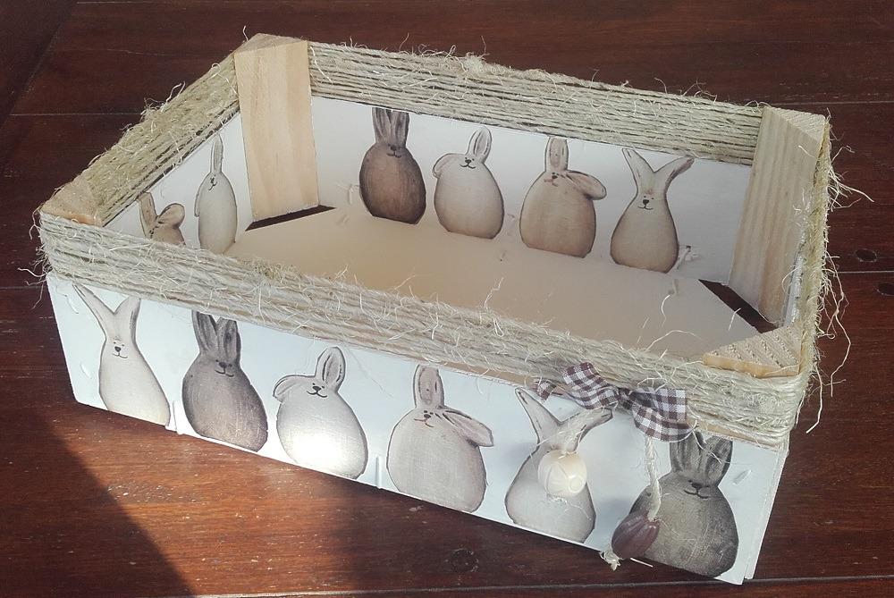Caixa de maduixes reciclada