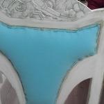 Parell de cadires de color verd14