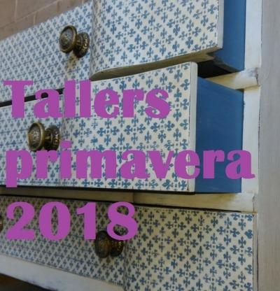 els tallers de la primavera 2018